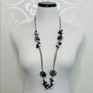 """VINTAGE 36"""" BEADED NECKLACE"""